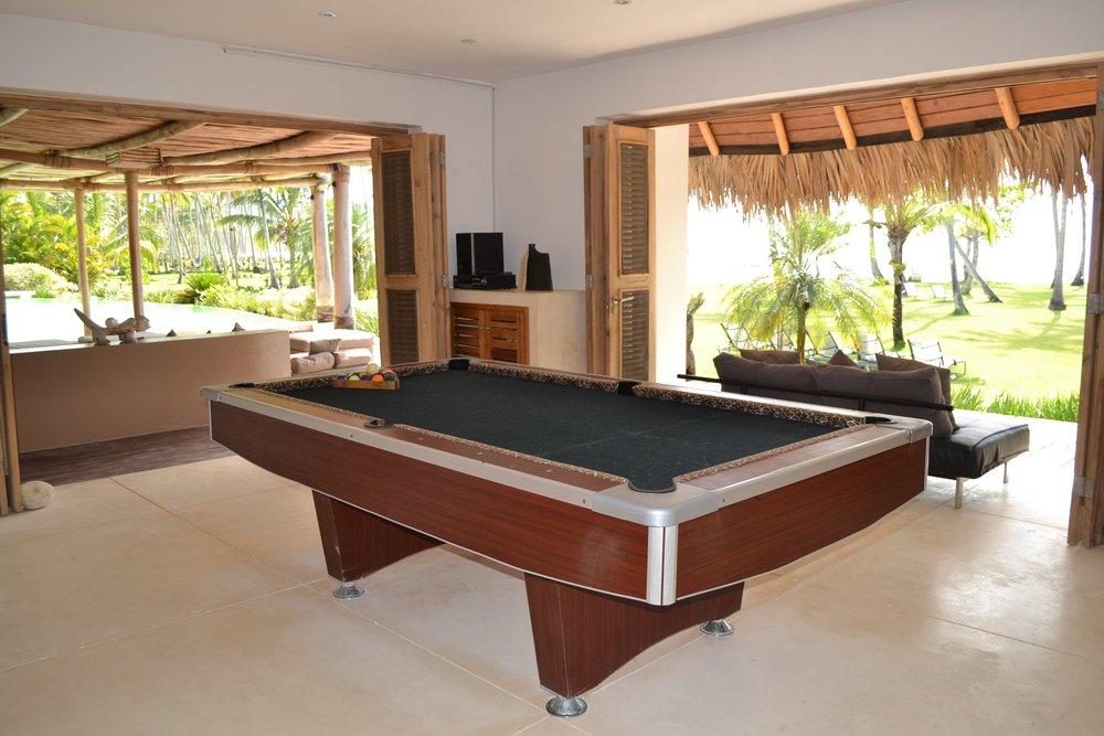 Villa for Sale Las Terrenas billard room.JPG