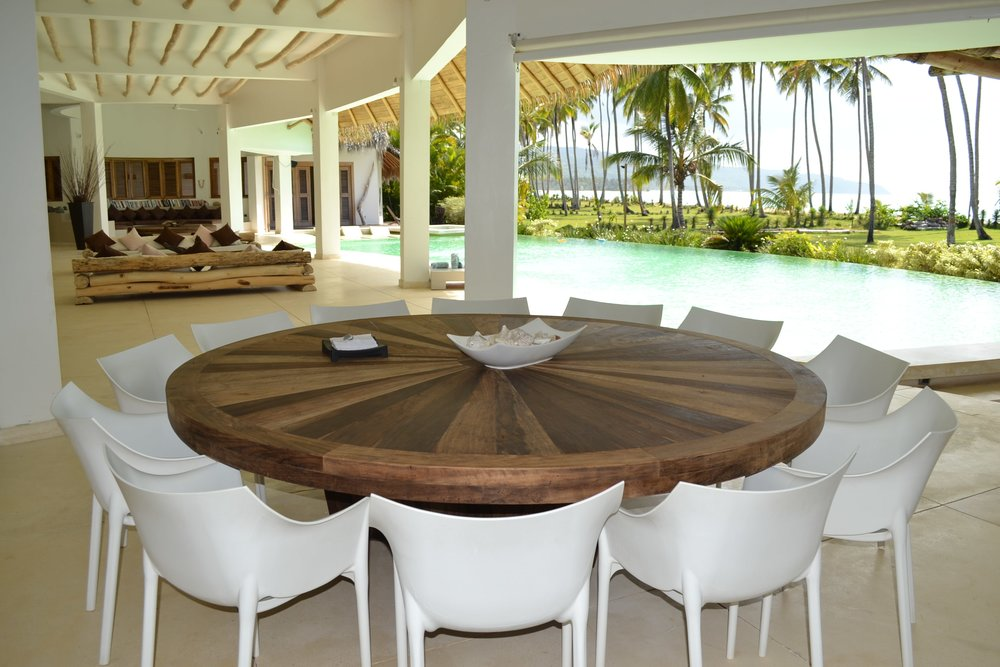 Villa for Sale Las Terrenas Living room.JPG