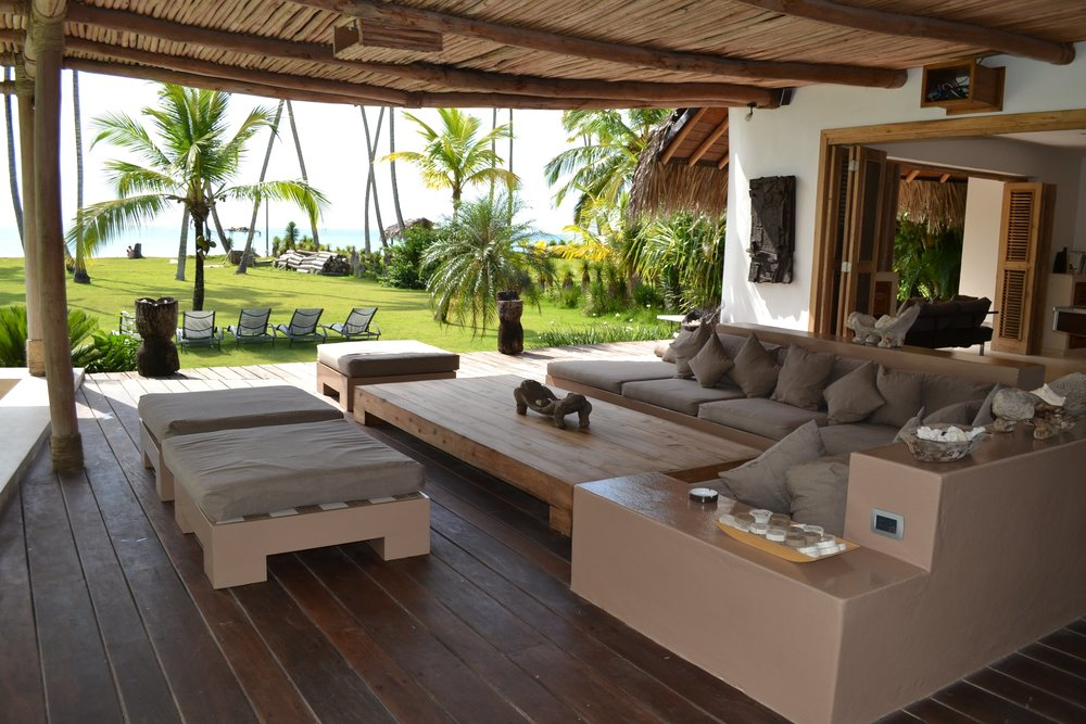 Villa for Sale Las Terrenas  living room chillout.JPG