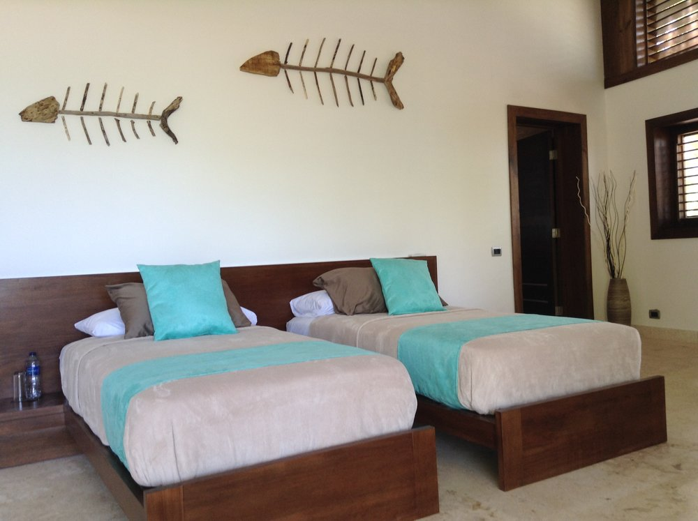 Las Terrenas Villa Ocean Lodge room 2 singles.jpg