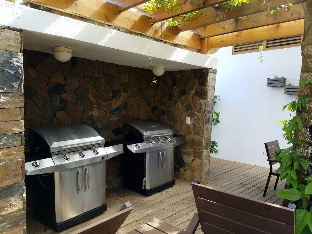 Apartment for sale las terrenas monserrat II common area BBQ.jpeg