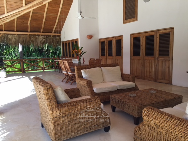 Main villa & 2 separated bungalows in exclusive community several steps from the beach in Las Terrenas Real Estate Dominican Republic8.jpg