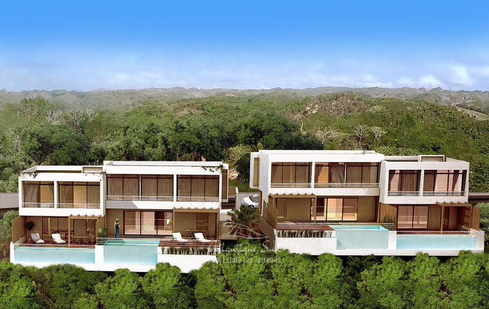 Hillside Townhouses with amazing ocean views in Las Terrenas Real Estate Dominican Republic4.jpg