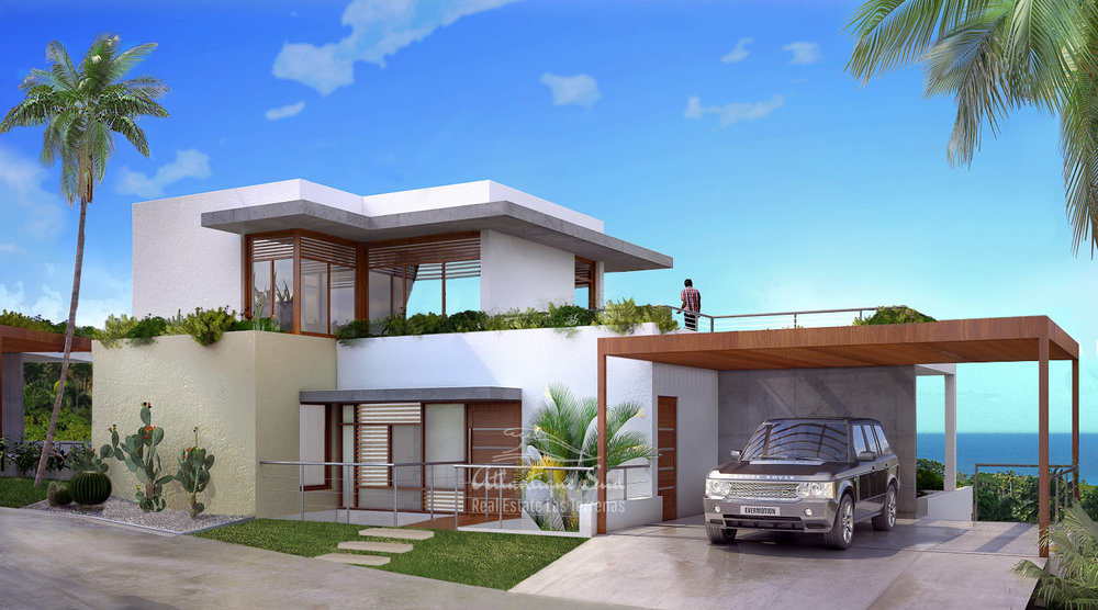 Ecofriendly Villas under development on a hillside with amazing ocean views in Las Terrenas Real Estate Dominican Republic4.jpg