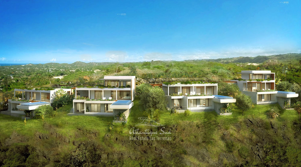Ecofriendly Villas under development on a hillside with amazing ocean views in Las Terrenas Real Estate Dominican Republic5.jpg