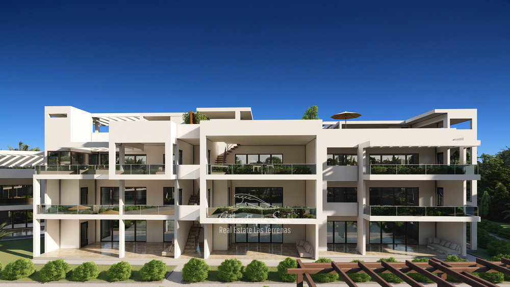 Development of modern condos steps from the beach Real Estate Las Terrenas Atlantique Sud Dominican Republic6.jpg