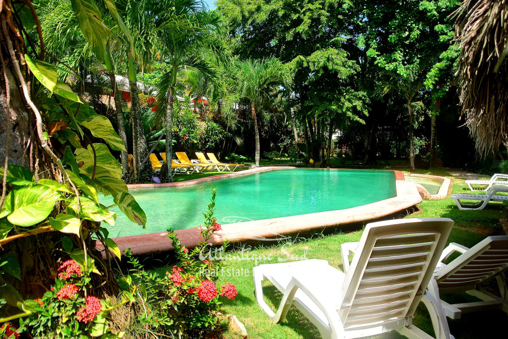 Colourful caribbean hotel in touristic heart Real Estate Las Terrenas Dominican Republic1.jpg