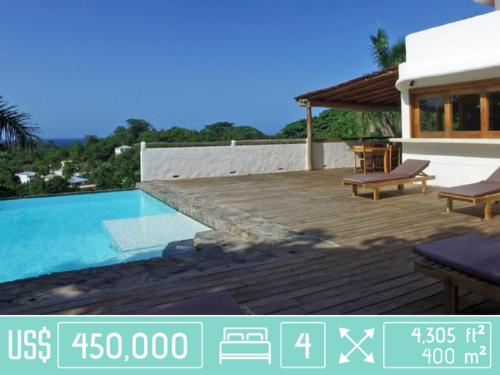 Ocean View Homes for Sale in Las Terrenas, Dominican Republic