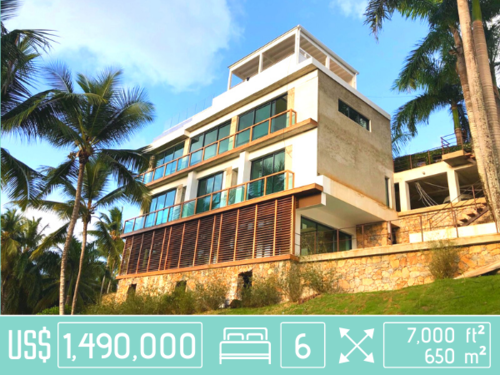 Houses & Villas for Sale in Las Terrenas, Dominican Republic