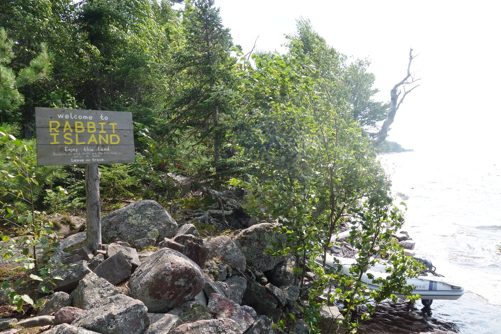 Rabbit Island Residency, Lake Superior, Michigan USA