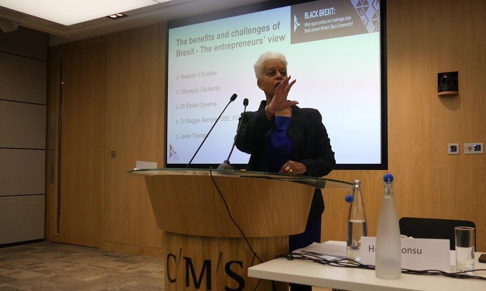 Dr. Maggie Semple OBE FCGI