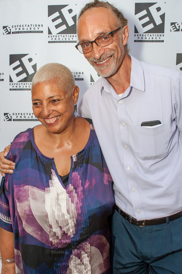 Leila Howe and Paul Reid