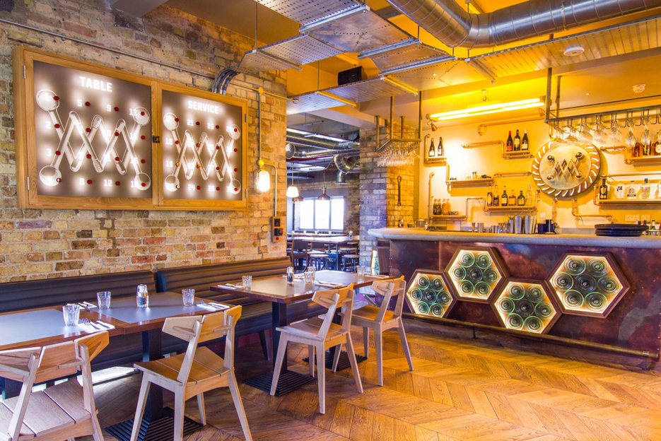 Our Joinery work can be seen in the new Millworks restaurant in Cambridge.