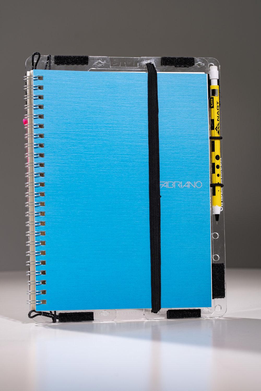 The SingleBoard Holds upto A5 Sized Notebooks.