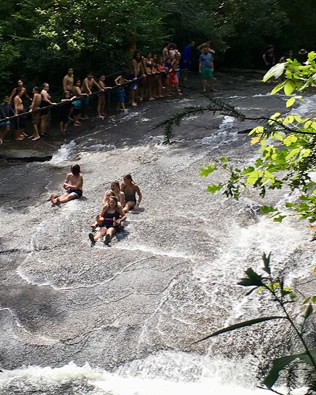 #TBT to the Sliding Rock Train! We are looking forward to warmer days so we can do this again!