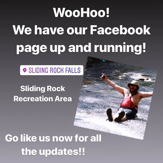 Link in bio! Follow us at this Facebook page for all the updates you need about your favorite natural water fall! #gonow #runlikethewind #slidefaster