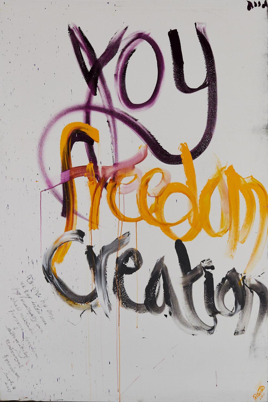 Joy Freedom Creation 1