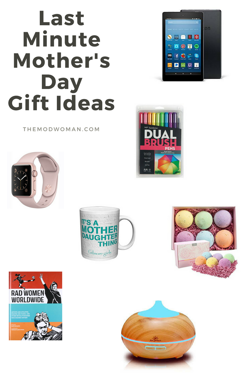 Last Minute Gift Ideas For Mother S Day The Mod Woman