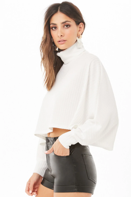 Forever 21 Ribbed Crop Top $14.90