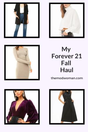 My Fall Forever 21 Haul  C2 B7 Fashion