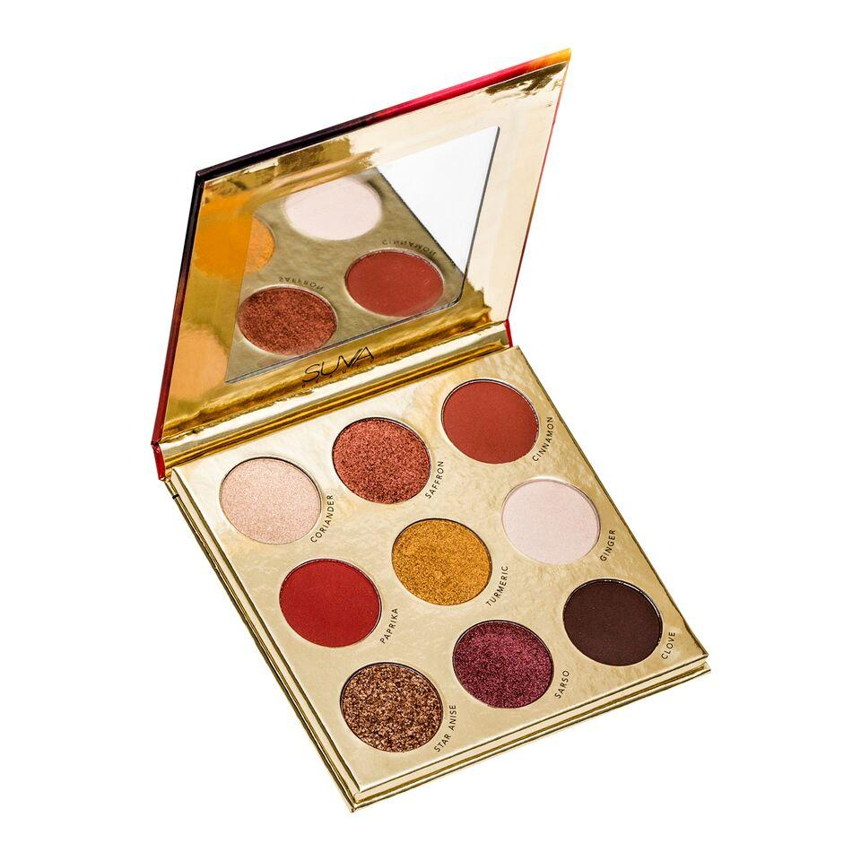 Suva Beauty Saffron Palette, $35