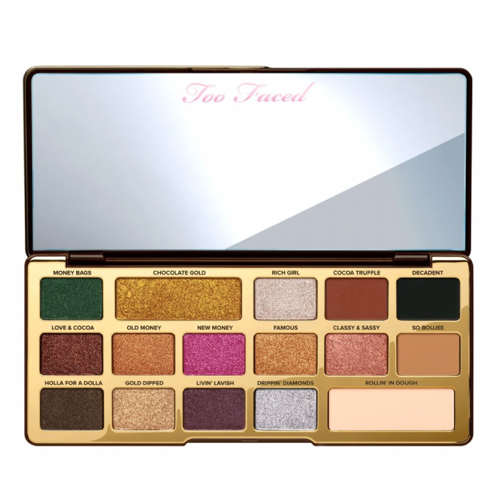 Too Faced Chocolate Gold Bar Palette, $49