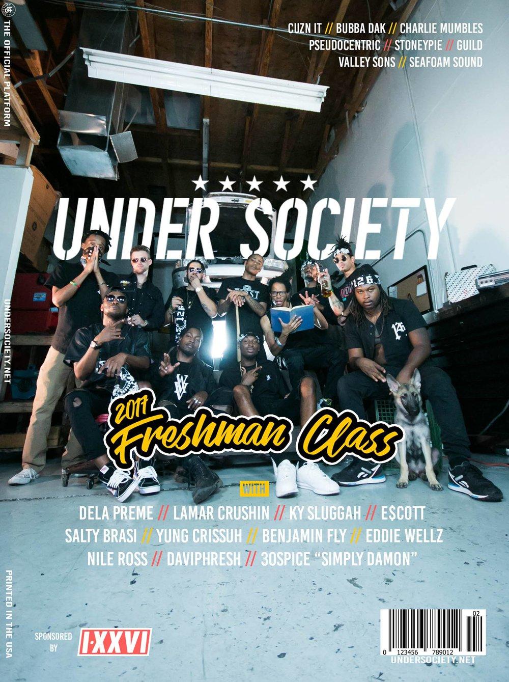 Under Society  announces the 2017 Freshman Class!