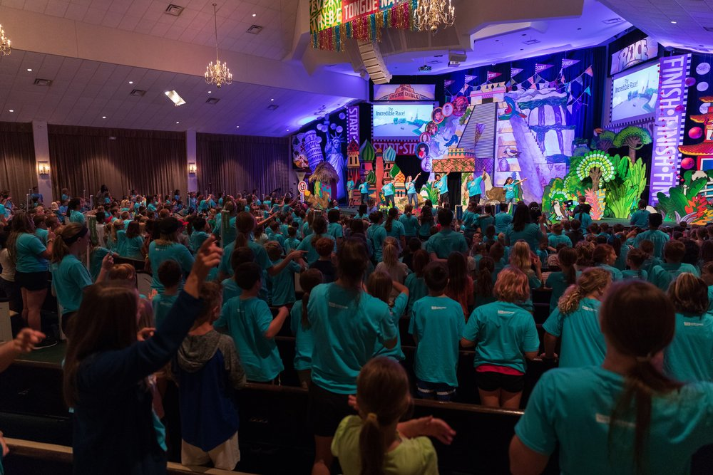 The Incredible RaceVacation Bible School - Register Here