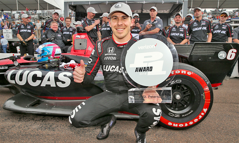 Indy Car driver #6, Robert Wickens