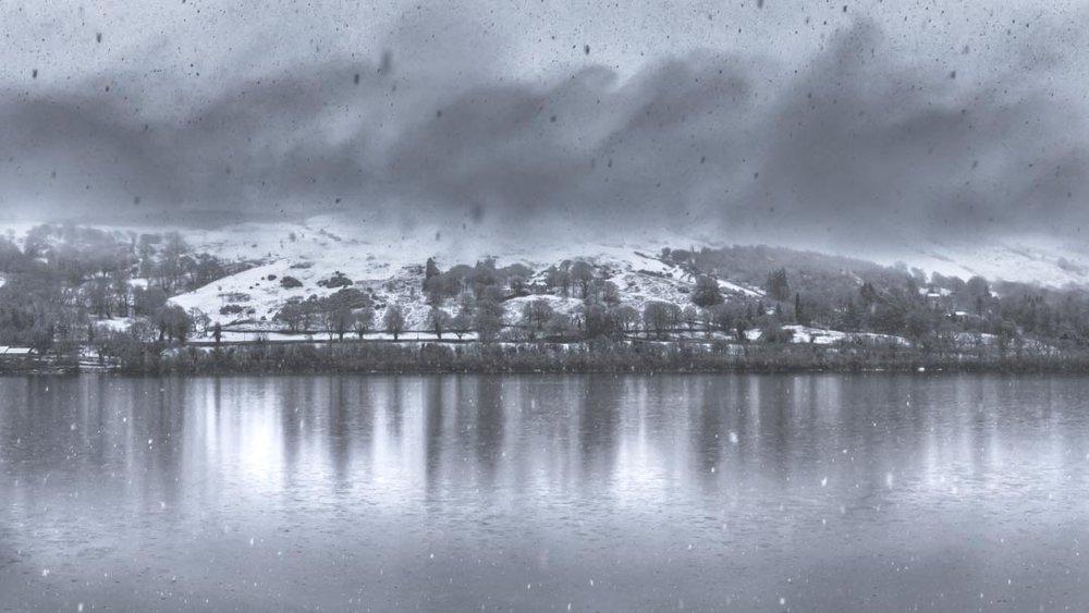 Snowstorm At Bala Lake