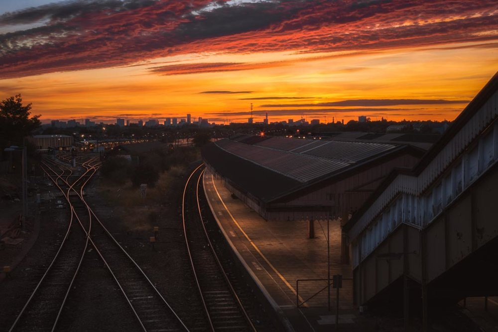 Tyseley Layered Sunset 3