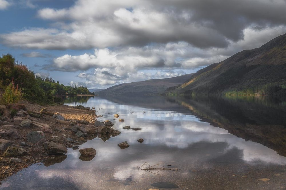 Loch Lochy Reflections No 13