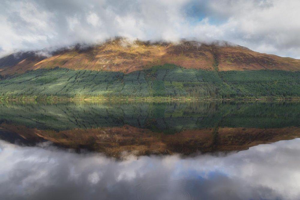 Loch Lochy Reflection No 1