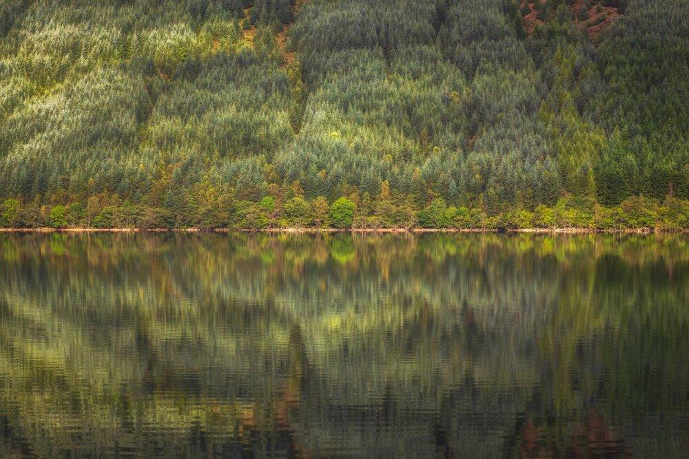 Loch Lochy Reflection No 3