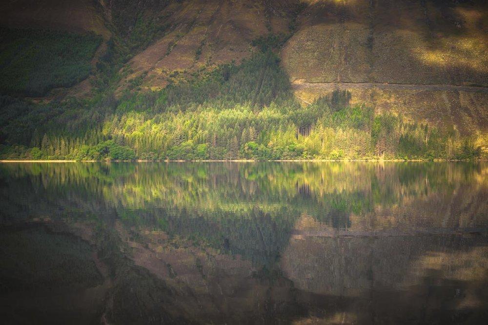Loch Lochy Reflection No 5