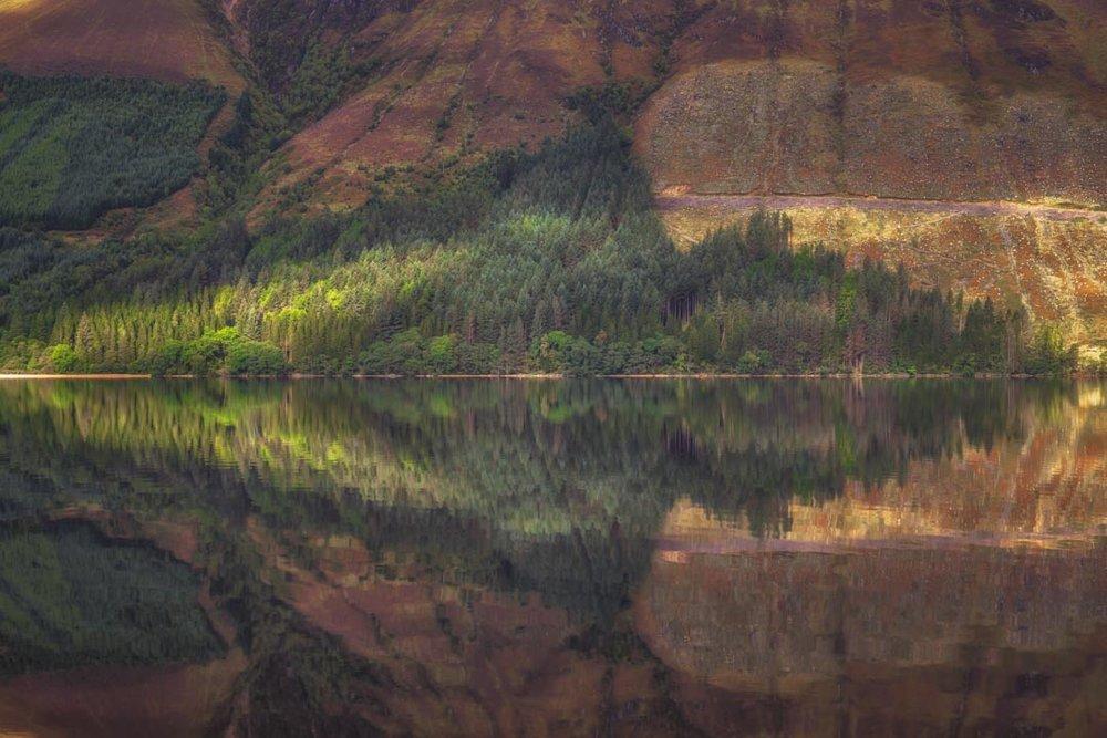 Loch Lochy Reflection No 6