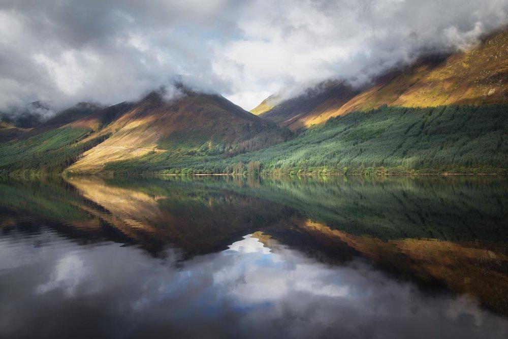 Loch Lochy Reflections No 9