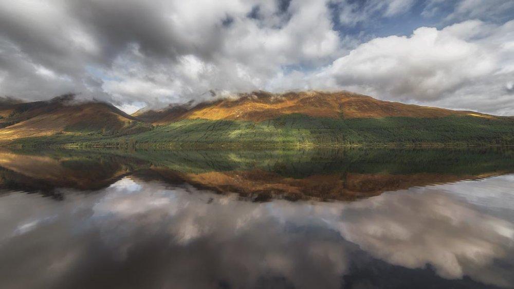 Loch Lochy Reflections No 10