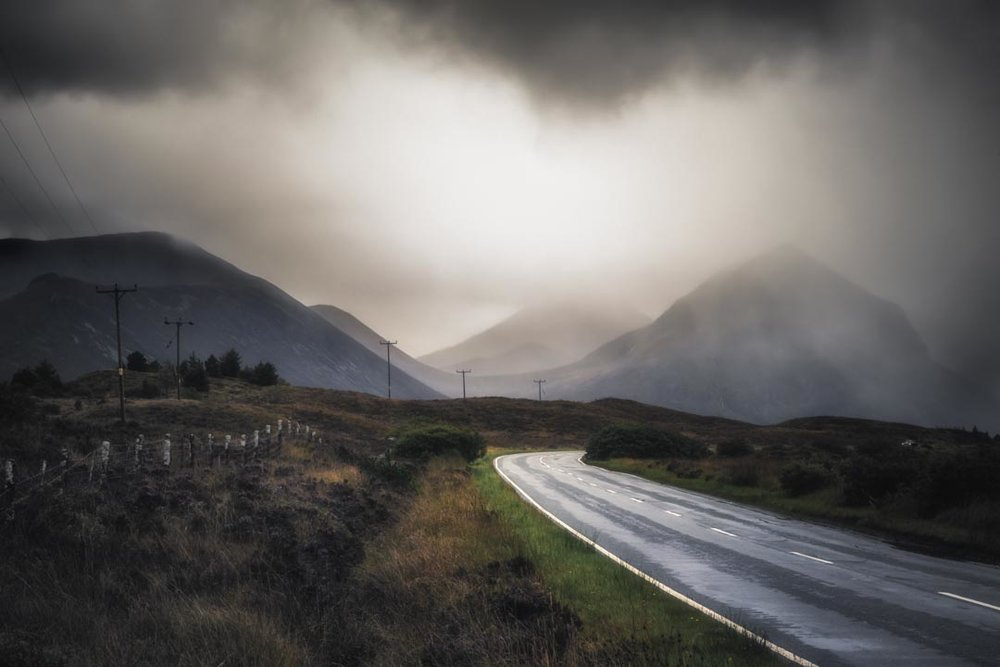 Incoming Weather at the Isle of Skye