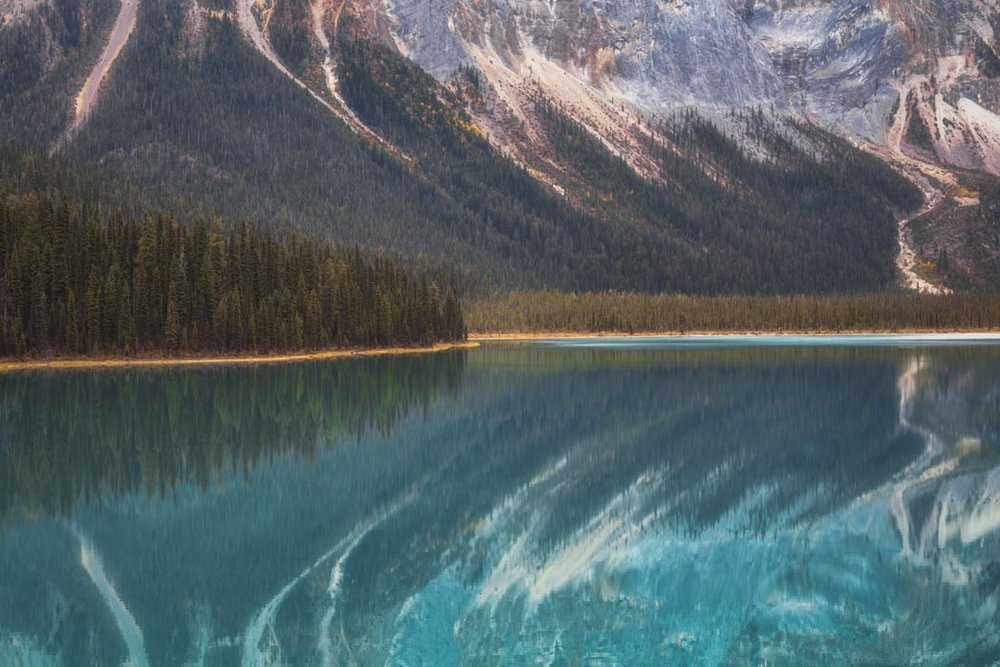 Emerald Lake Reflection No 1