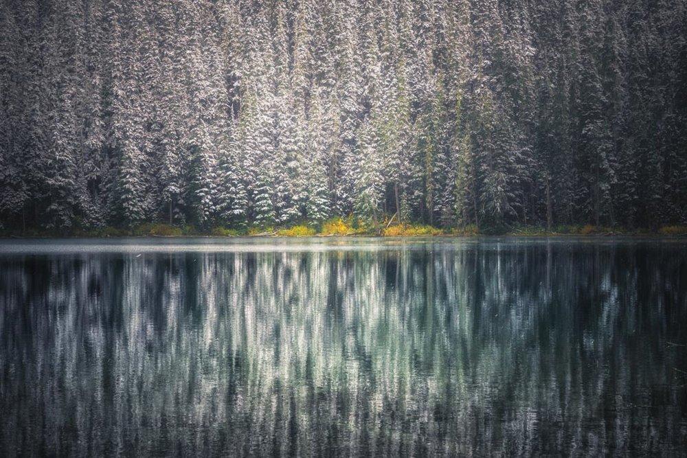 Frozen Joffries Lake