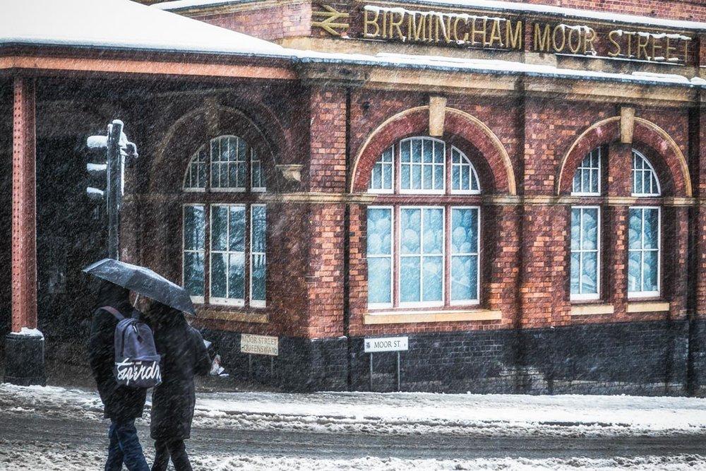 Moor Street Snow Scene