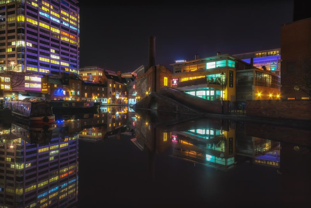 Night on the Canals