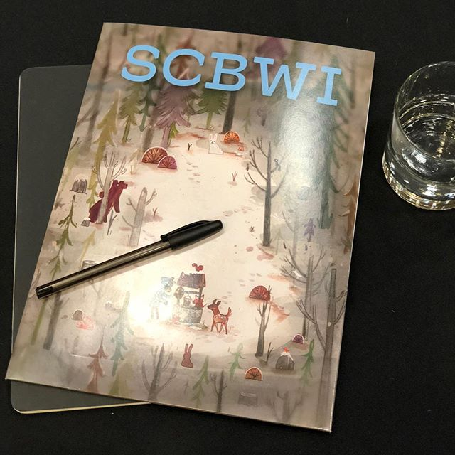 Completely inspired by all of the creators today at @scbwi Letters & Lines Conference!