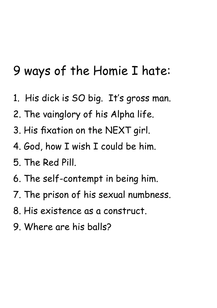 9 ways I hate about the Homie, 2018