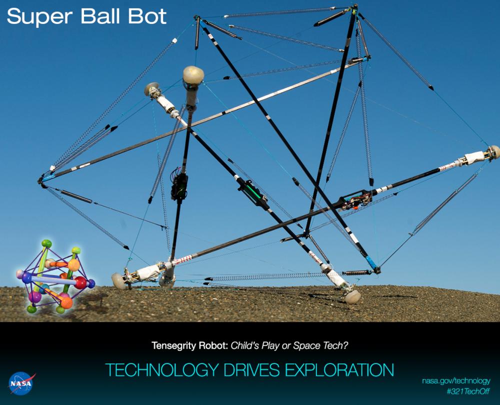 NASA's tensegrity robot
