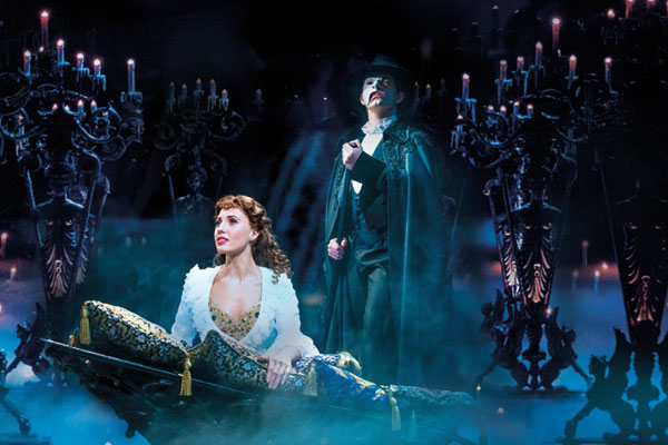 Phantom of the Opera, Her Majesty's Theatre, London. Image from: https://www.londontheatredirect.com/musical/13/phantom-of-the-opera-tickets.aspx