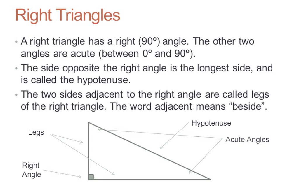 Students can use the properties of similarity transformations to establish the criterion for two triangles to be similar.