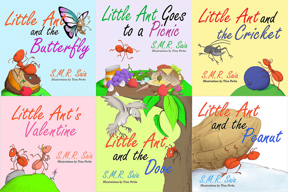 Little Ant Books - Reimagined Fables. Timeless Lessons.