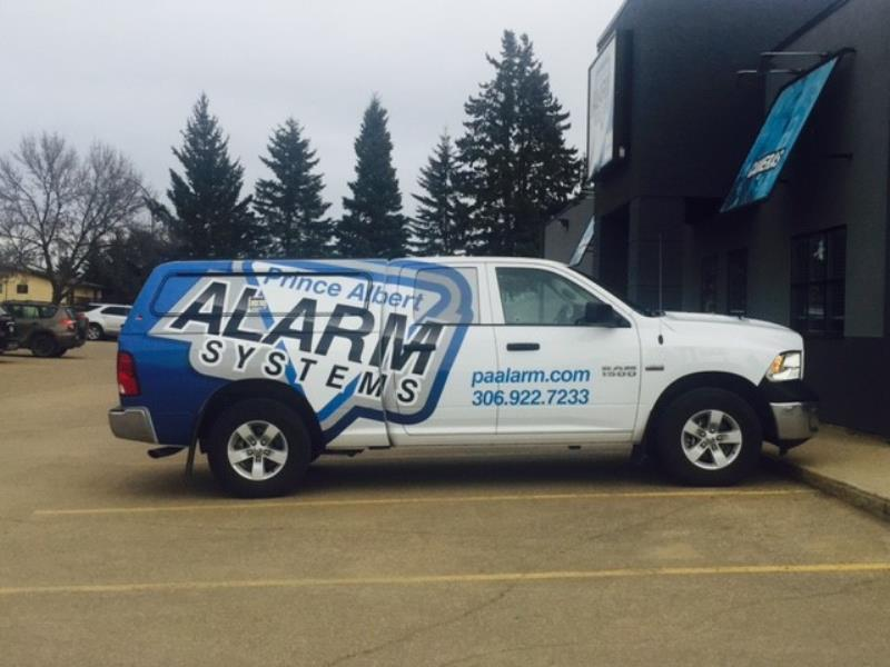 PA Alarm truck